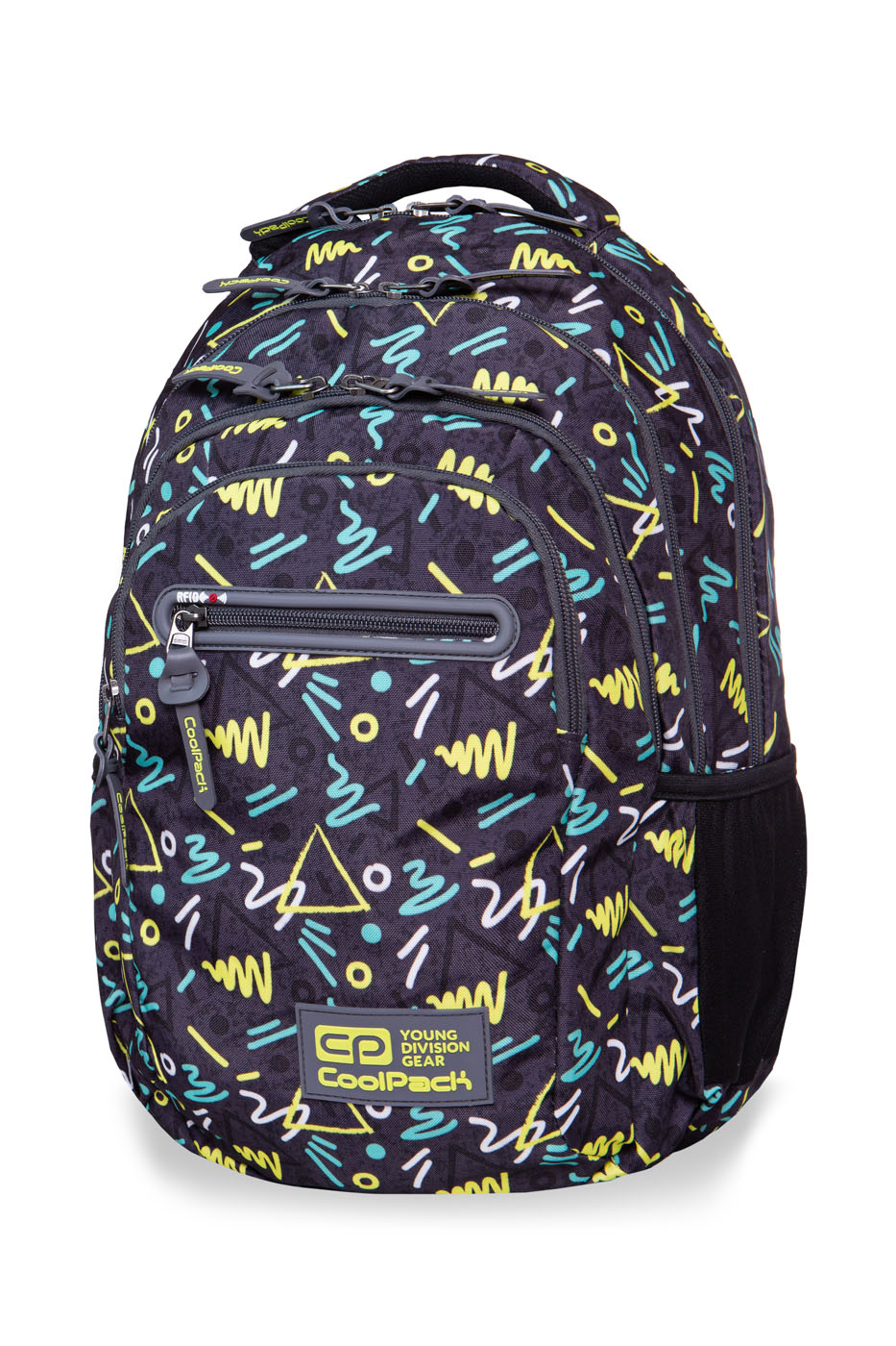 Coolpack - college tech - youth backpack - sketch