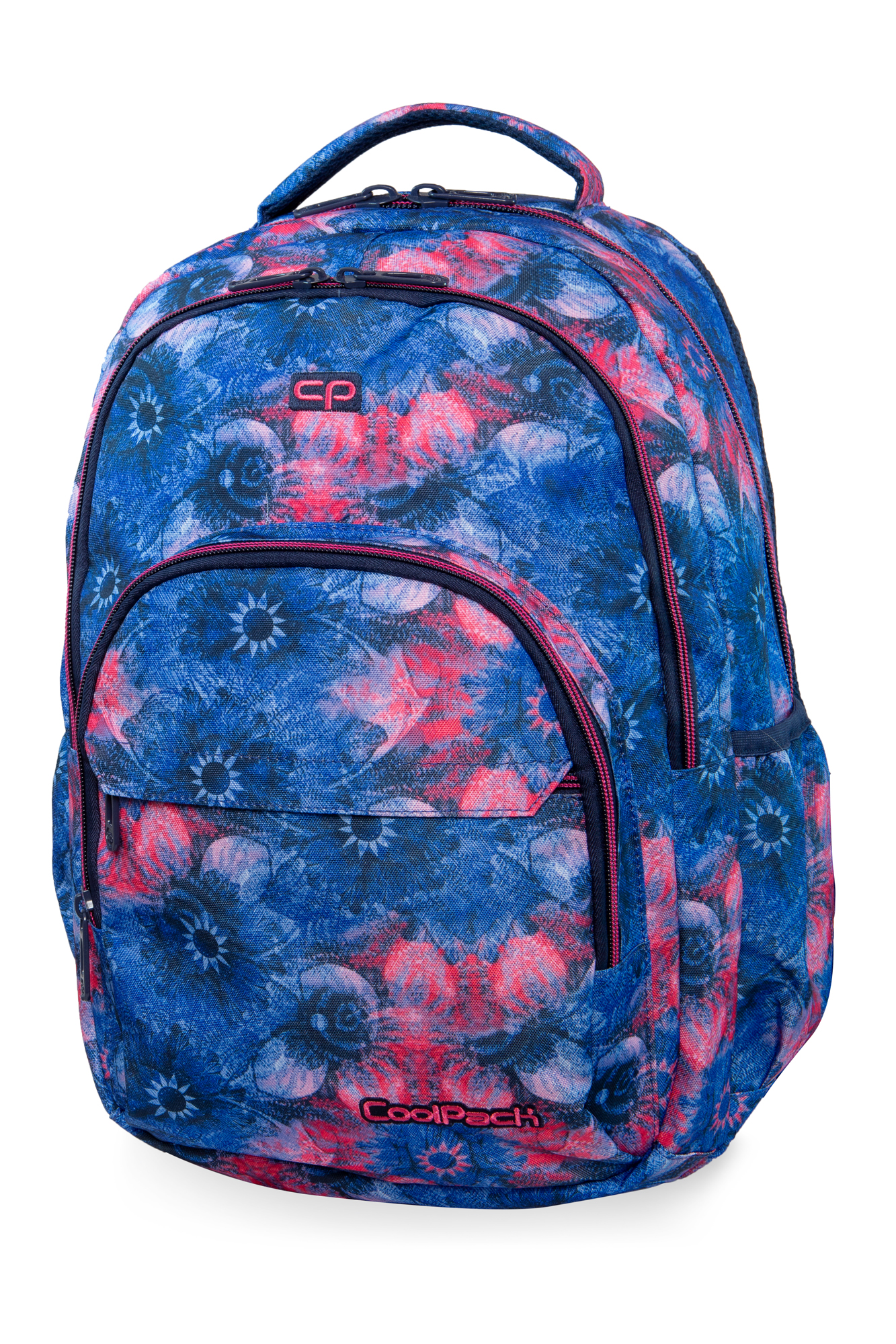 Coolpack - basic plus - youth backpack - pink magnolia