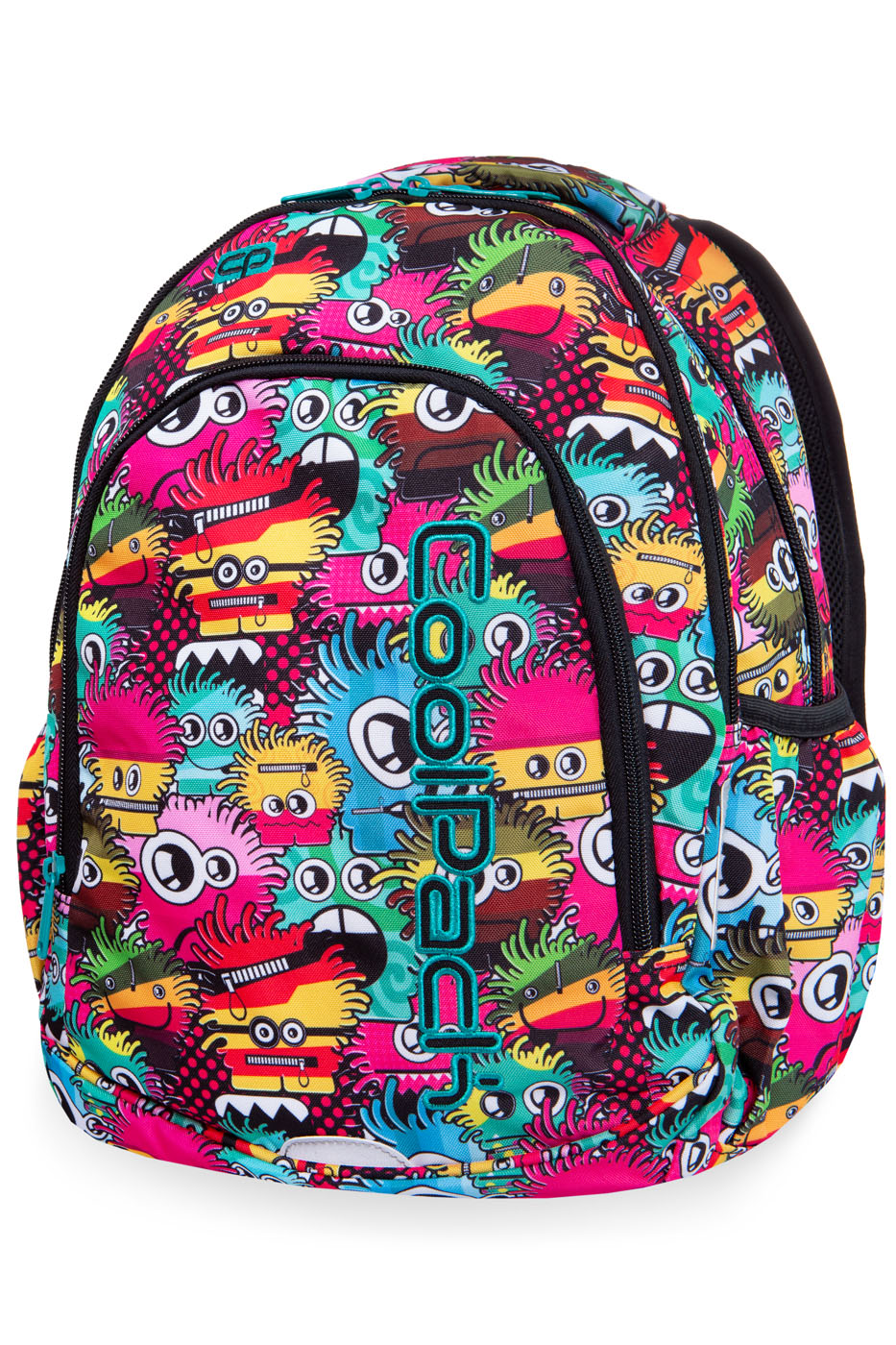 Coolpack - prime - youth backpack - wiggly eyes pink