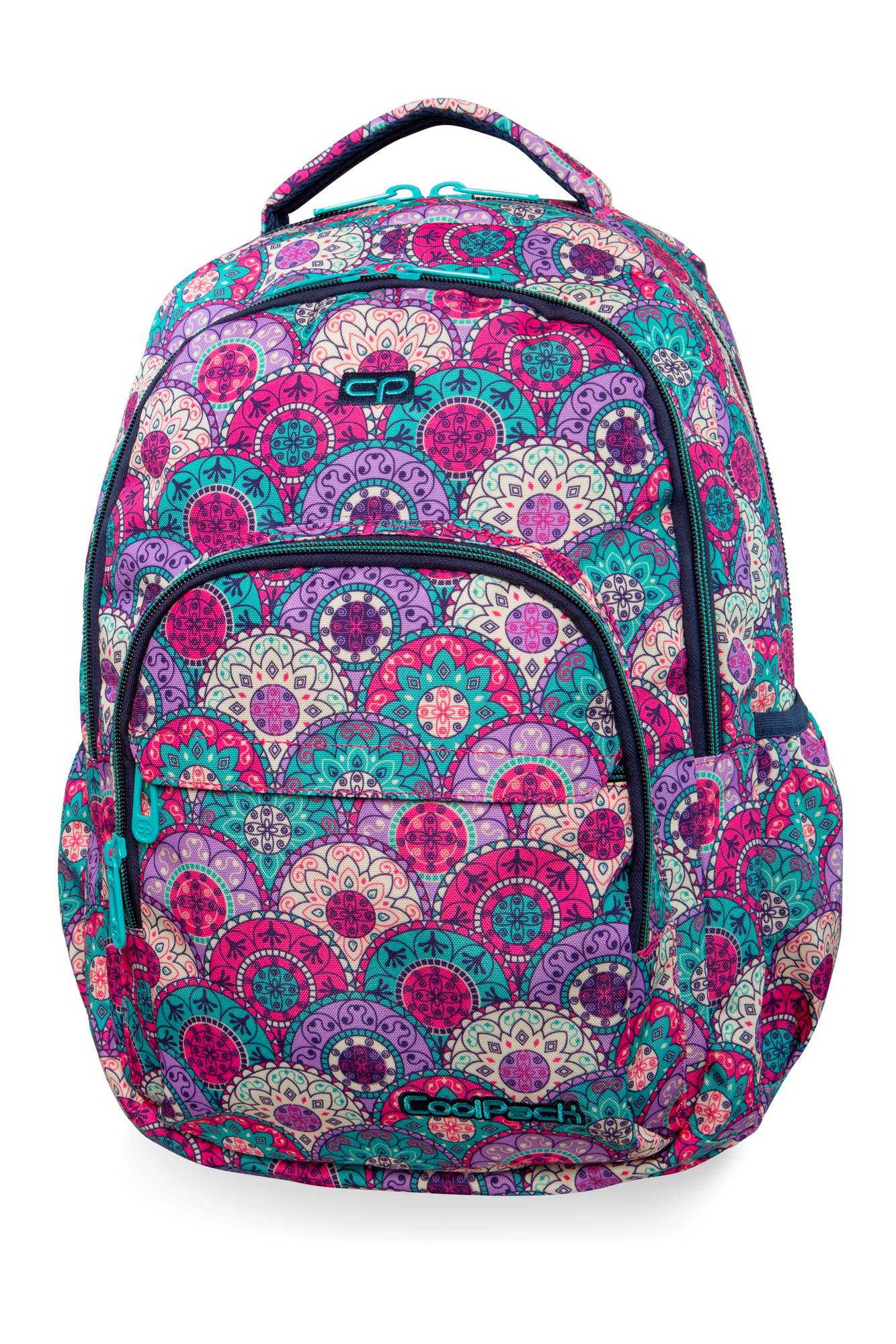 Coolpack - basic plus - youth backpack - orient pastel