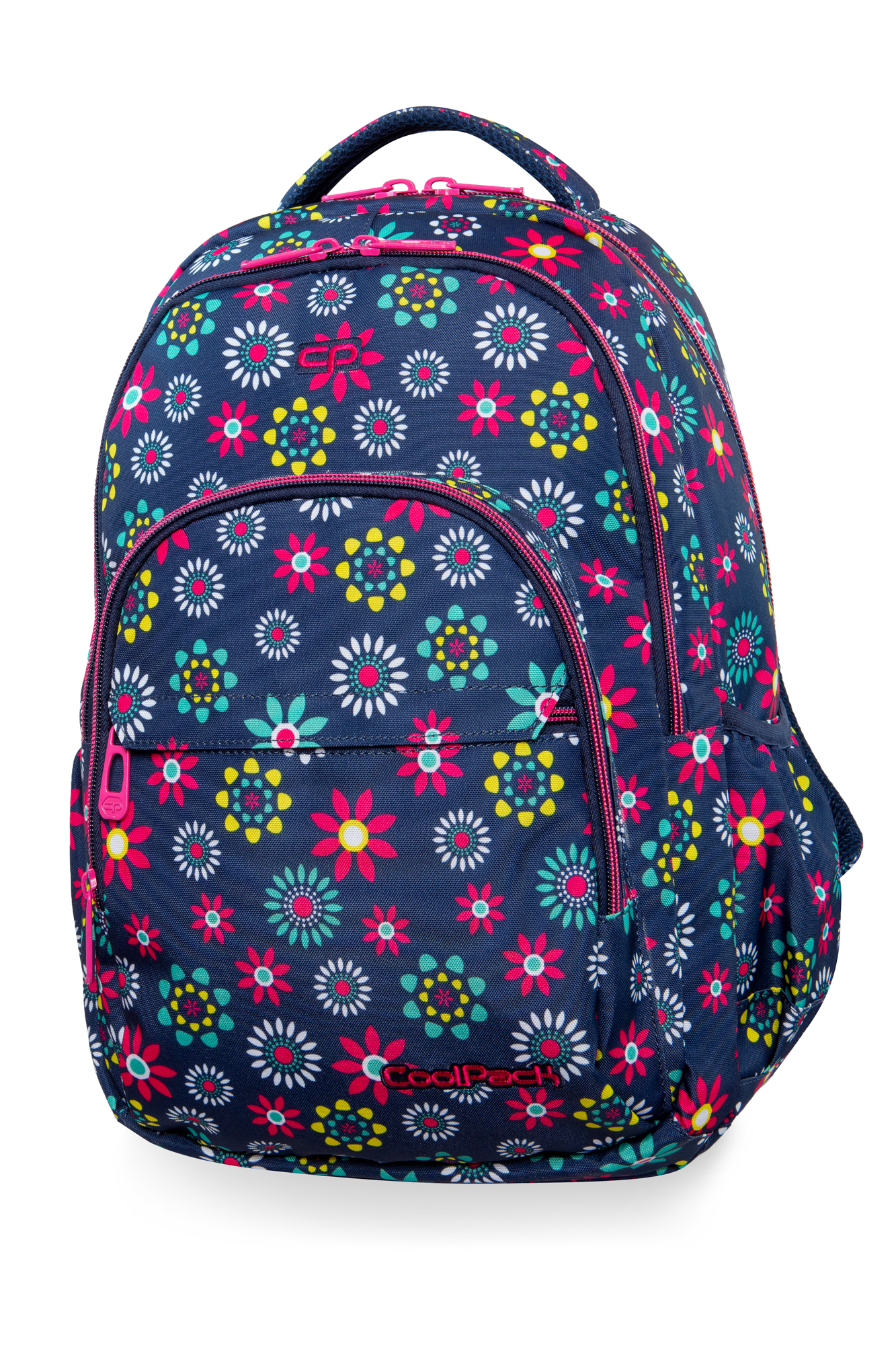 Coolpack - basic plus - youth backpack - hippie daisy