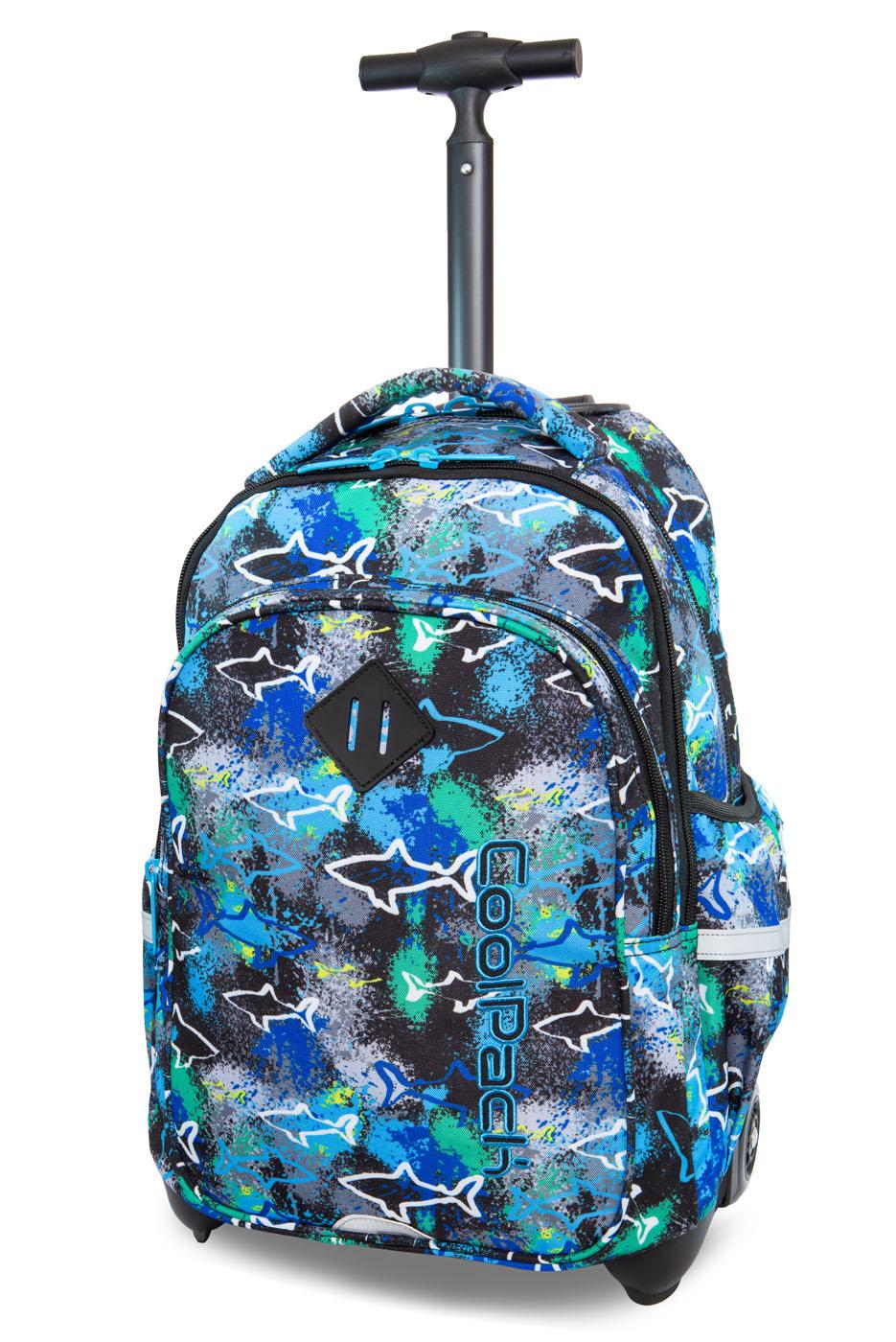 Coolpack   junior   rygsæk med hjul   sharks