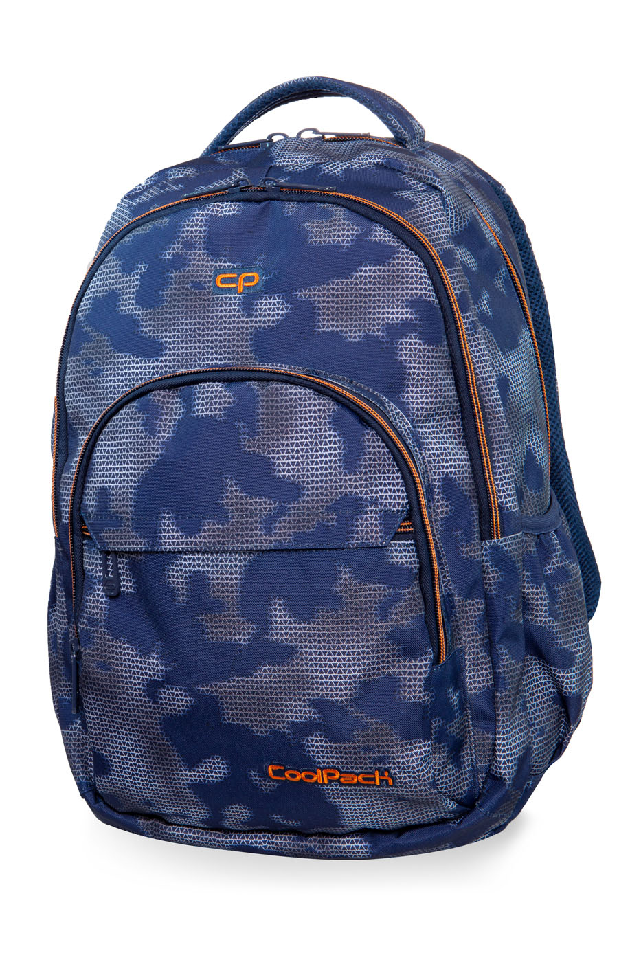 Coolpack - basic plus - youth backpack - misty tangerine