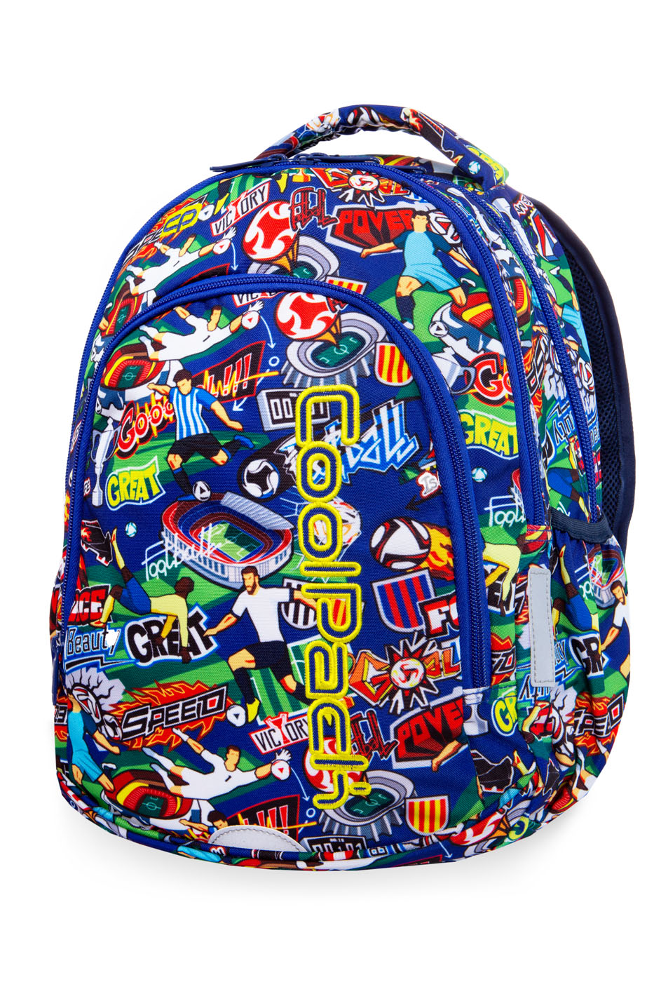 Coolpack - prime - youth backpack - football cartoon