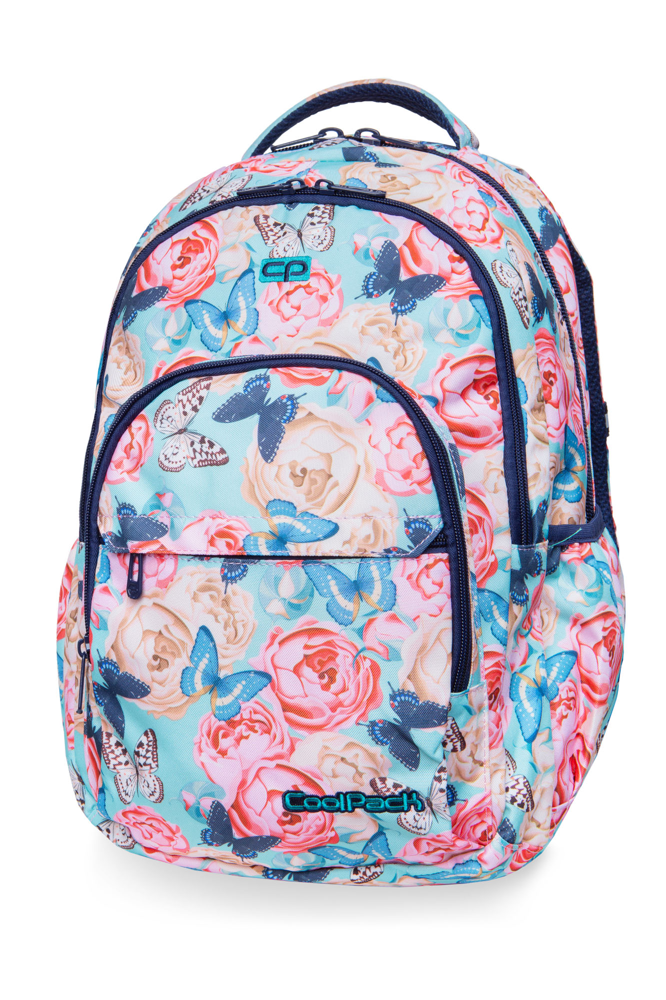 Coolpack - basic plus - youth backpack - butterflies