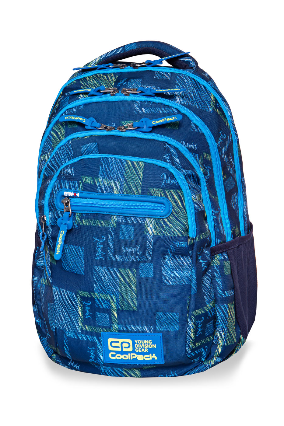 Coolpack - college tech - youth backpack - ocean room