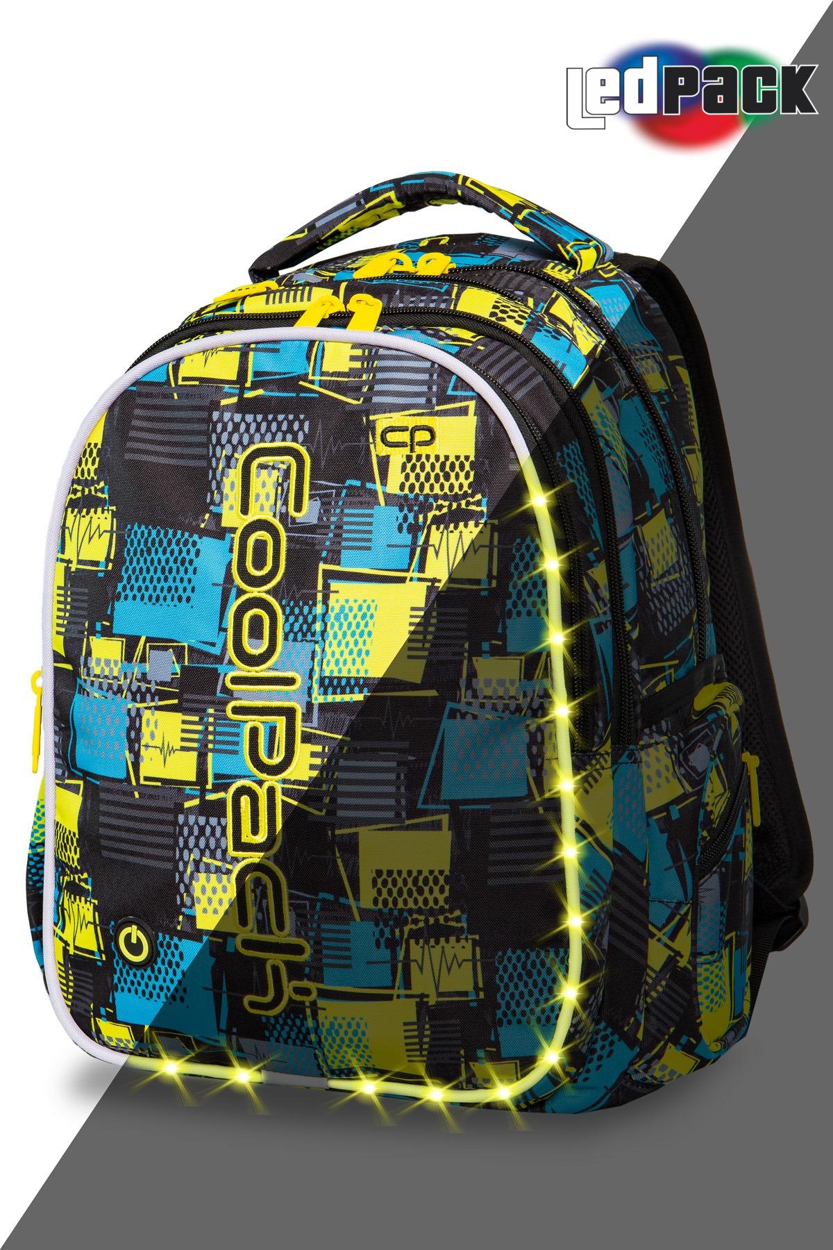 Coolpack   joy l  rygsæk   led squares