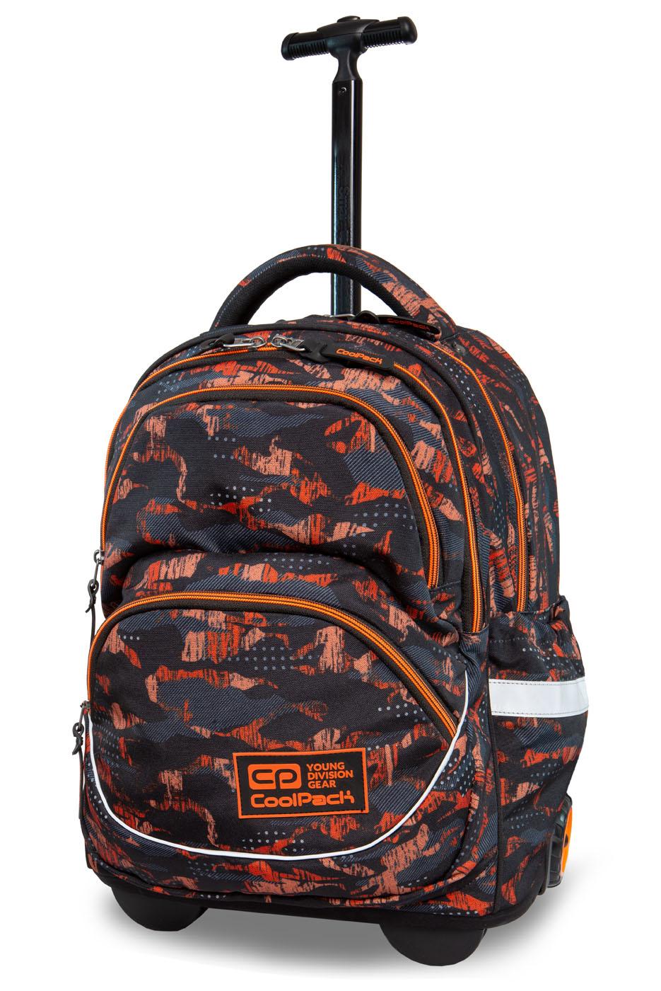 Coolpack   starr   rygsæk med hjul   orange