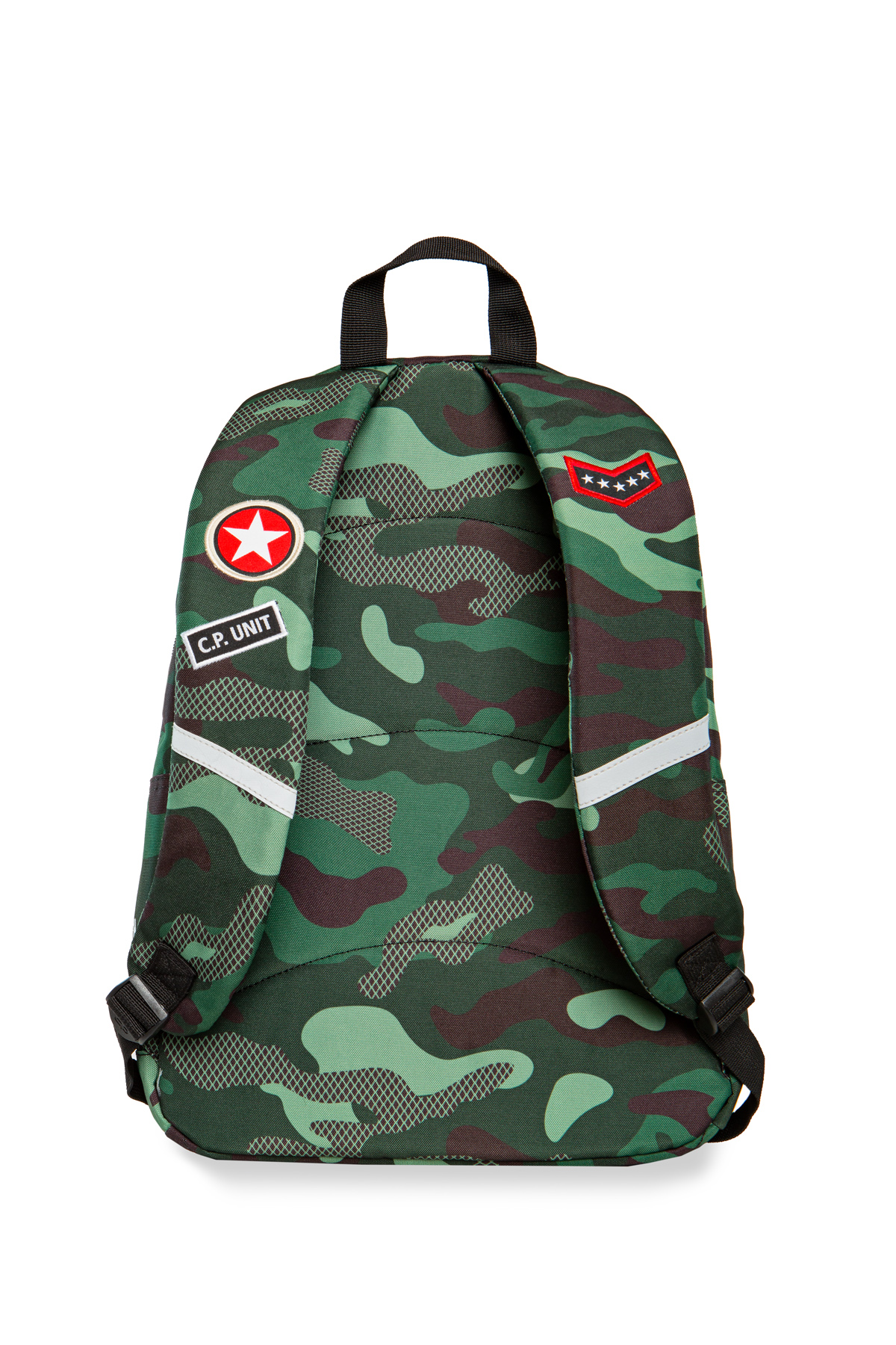 Coolpack - cross - youth backpack - camo green