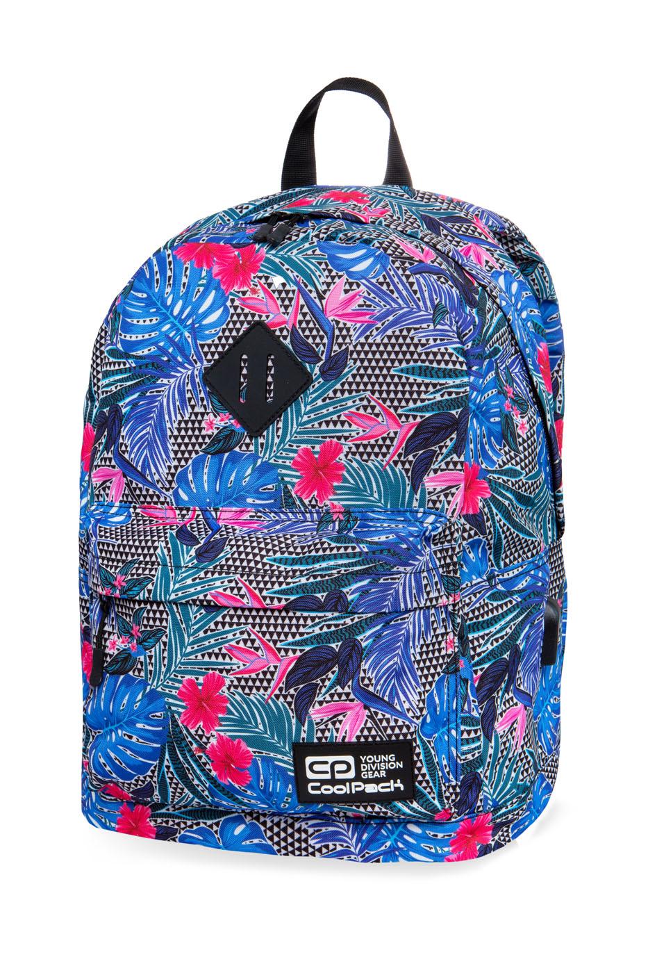 Coolpack - cross - youth backpack - aloha blue