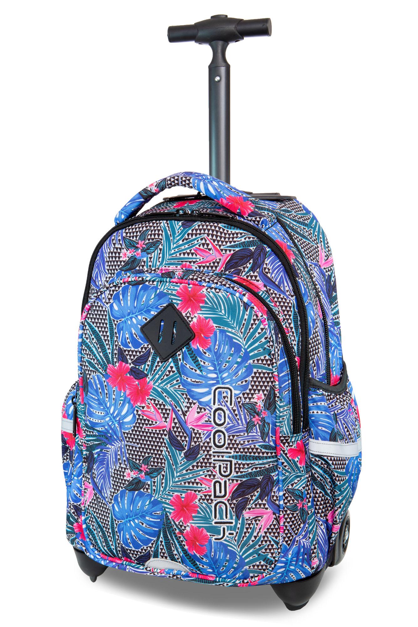 Coolpack   junior  rygsæk med hjul   aloha blue
