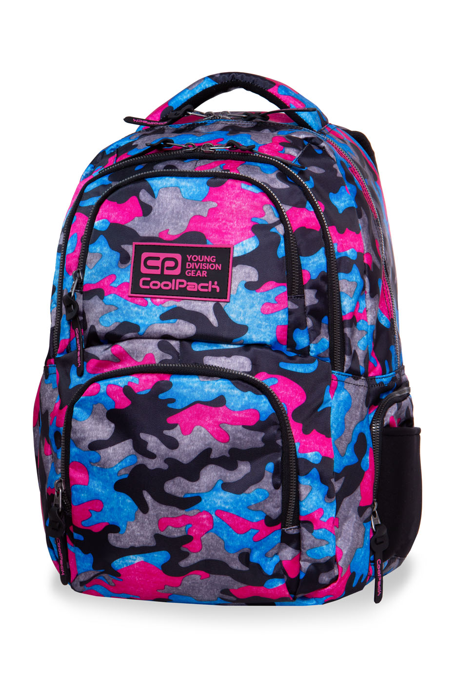 Coolpack - aero - youth backpack - camo fusion pink