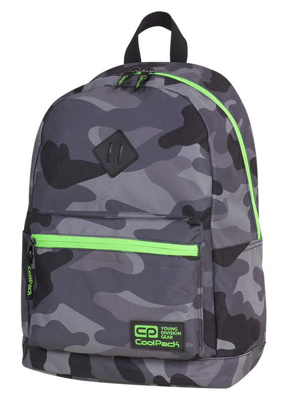 Coolpack - cross - youth backpack - a372 - 1 partition (camouflage)