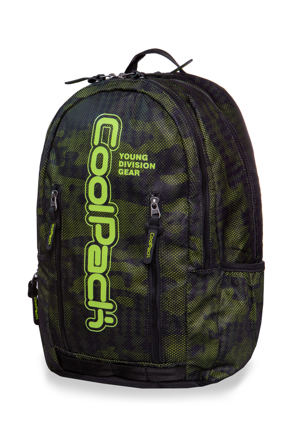 Coolpack - impact ii - youth backpack - army moss green