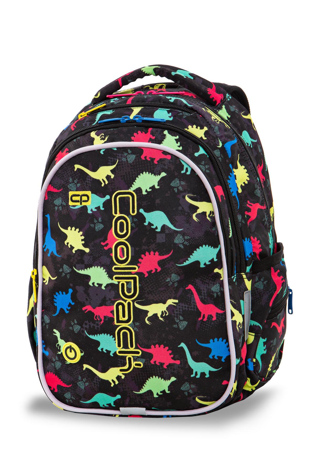 Coolpack   joy m  rygsæk   led dinosaurs