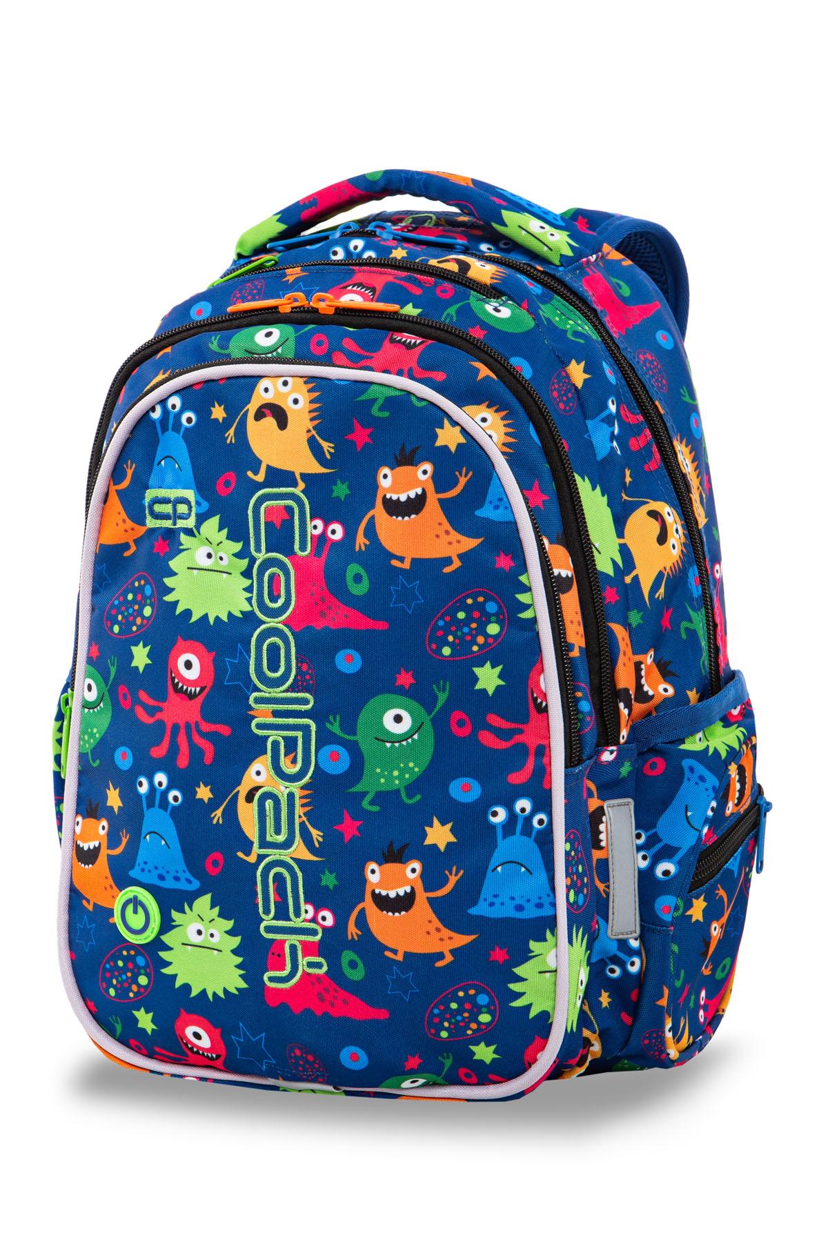 Coolpack   joy m  rygsæk   led funny monsters