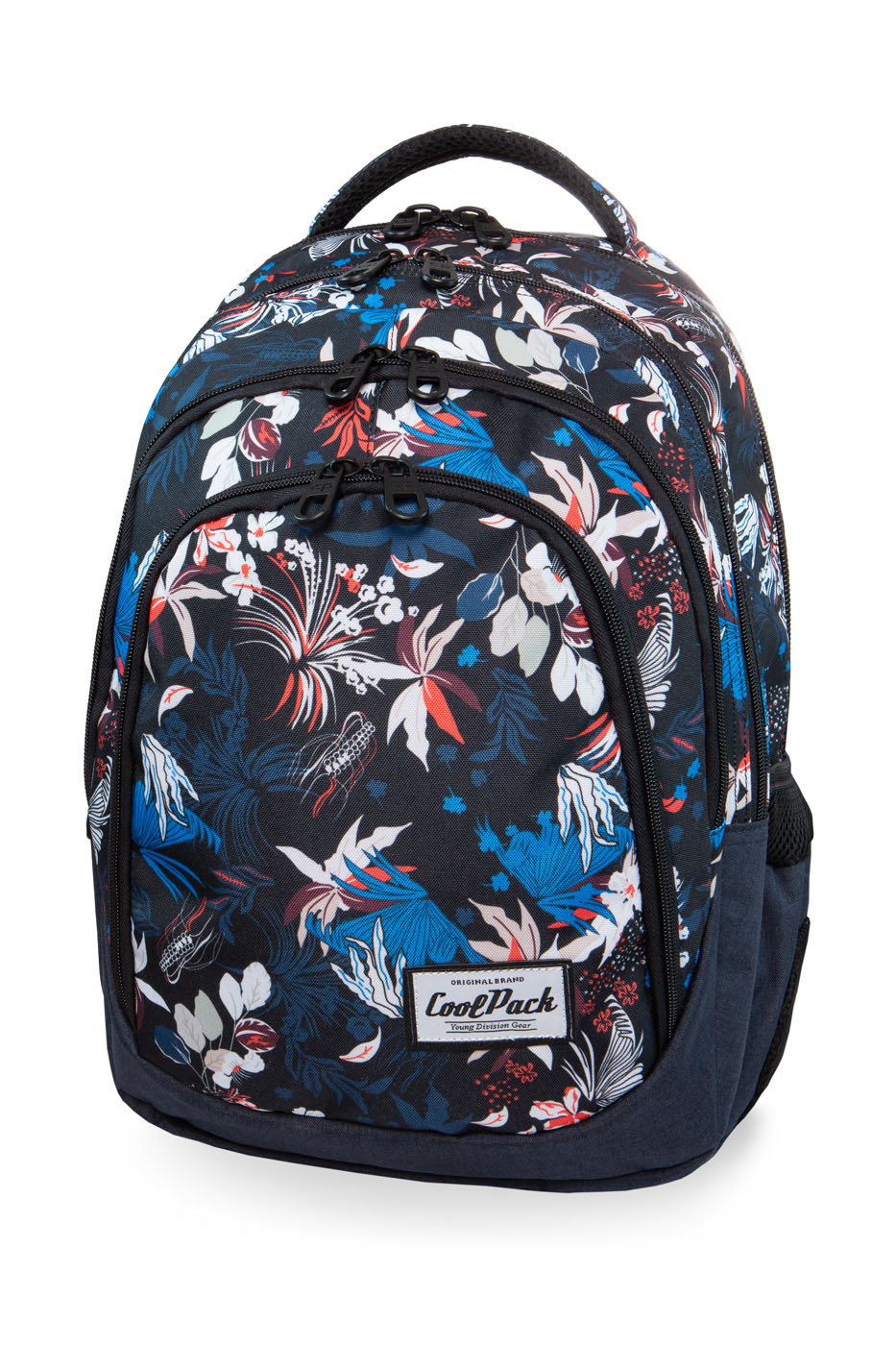 Coolpack - drafter - youth backpack - ocean garden