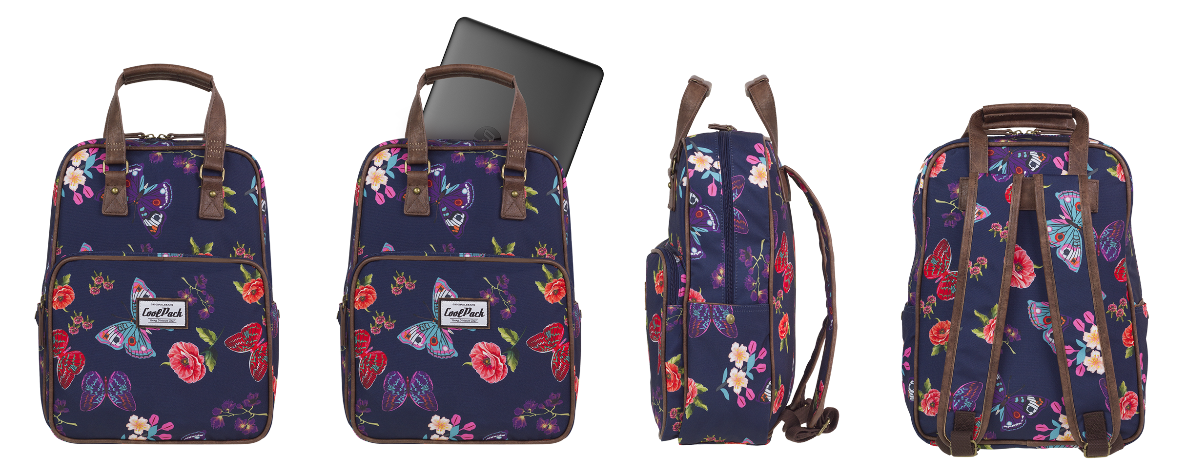 Coolpack - cubic - youth backpack - a099 - vintage