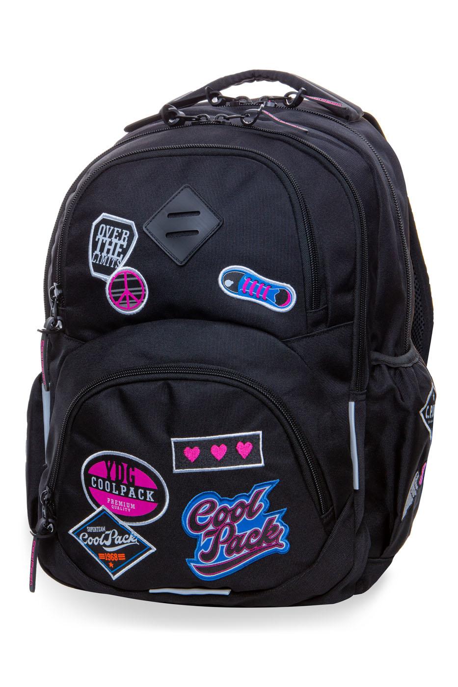 Coolpack   dart l  rygsæk   black