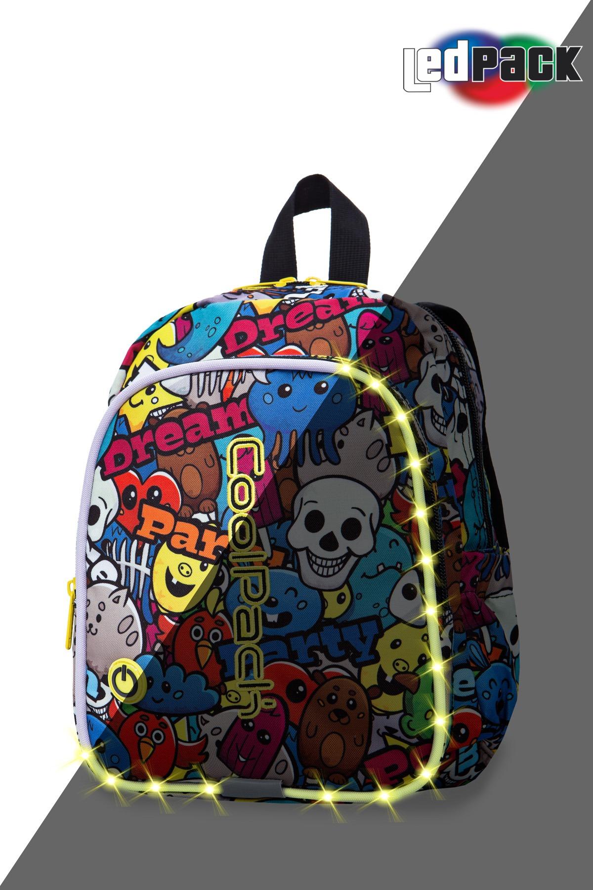 Coolpack - bobby - kids backpack - led cartoon