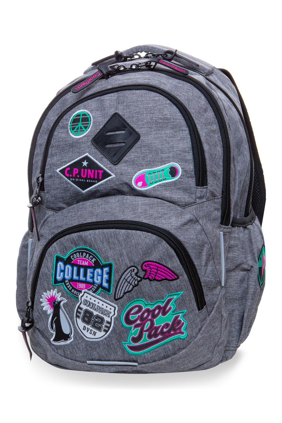 Coolpack   dart l  rygsæk   gray