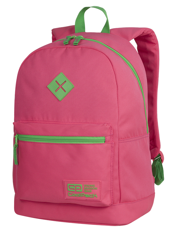 Coolpack - cross neon ruby - youth backpack - a464 - 1 compartment