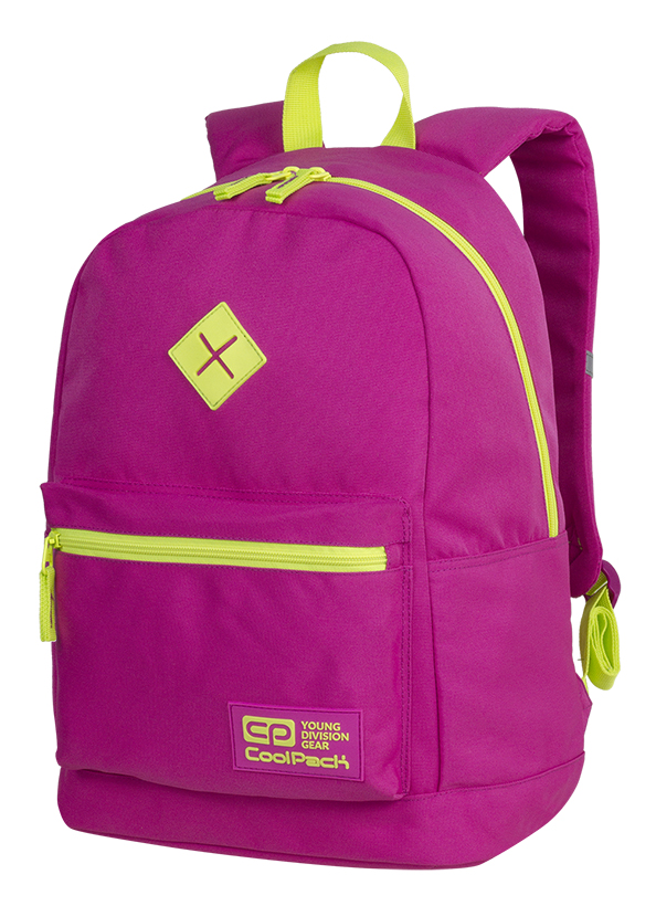 Coolpack - cross neon pink - youth backpack - a452 - 1 compartment