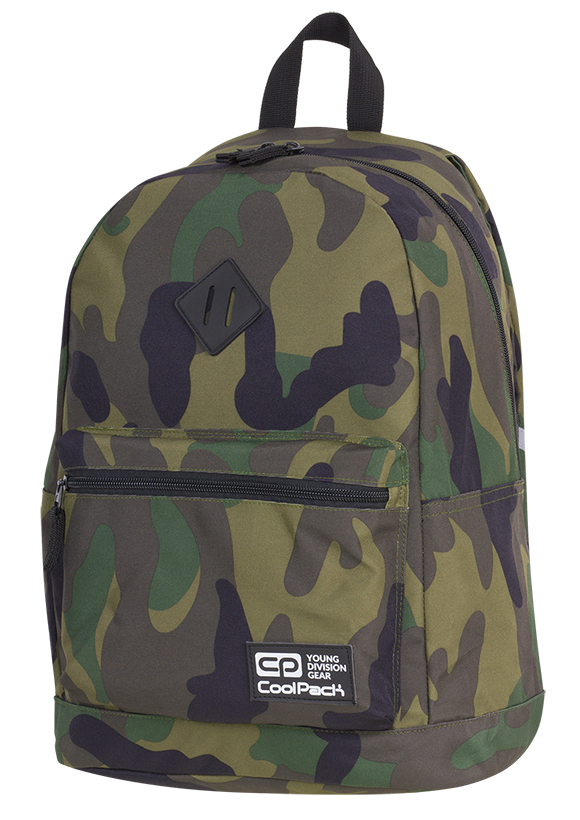 Coolpack - cross - youth backpack - a387 - 1 partition (camouflage)