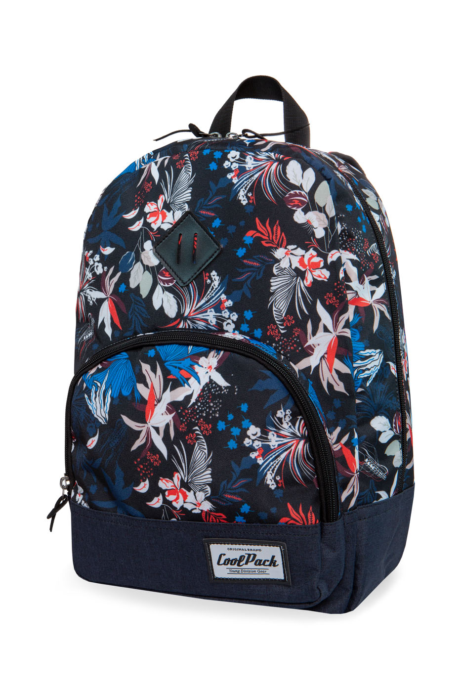 Coolpack - classic - youth backpack - ocean garden