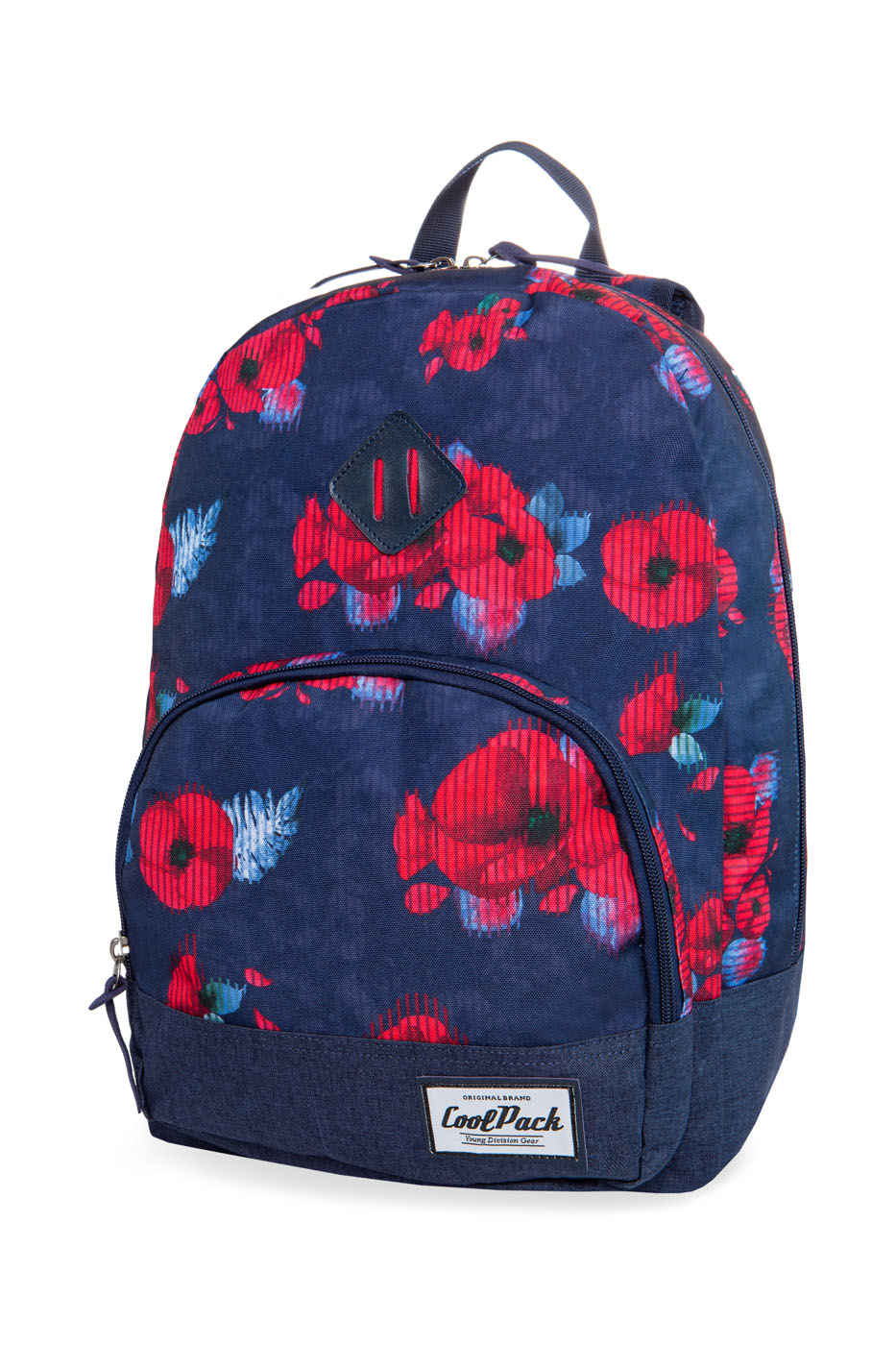 Coolpack - classic - youth backpack - red poppy