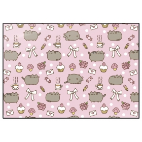 Pusheen Desktop mats  rose collection