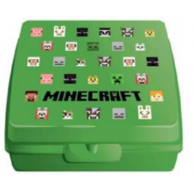 Minecraft lunch box with separator