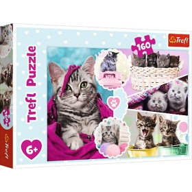 Puzzle 160 elements - Cute Trefl females