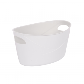 Basket for paperclips flora 2l, gray