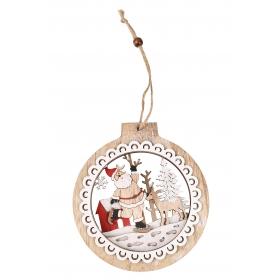 Christmas pendant 13.5x15 / 29 cm
