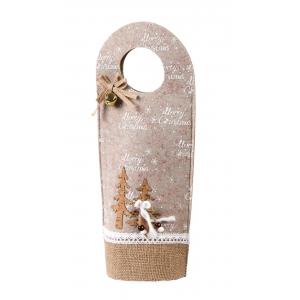 Christmas felt bag 15.5x10.5x35.5 cm