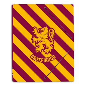 Folder rubber a4  folders harry potter gryffindor