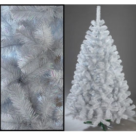 White artificial Christmas fir tree 120 cm