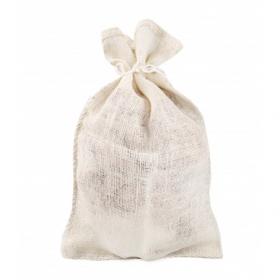 Cream jute bag 40x60 cm