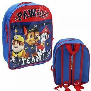 Plecak psi patrol granat/czerwony plecaczek dla dzieci
