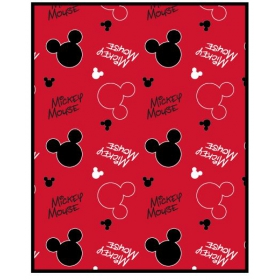 Mickey Mouse baby fleece blanket