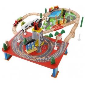 Wooden train - battery train