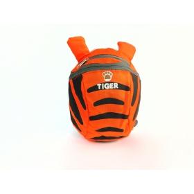 Neoprene tiger preschool backpack