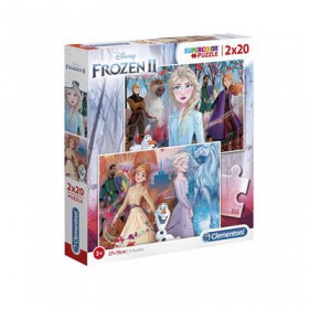 Puzzle Frozen - Frozen 2 x 20 elements