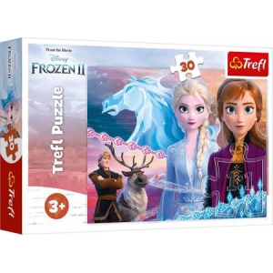 Frozen Puzzle 30 pieces. Courage of the Sisters Trefl