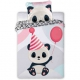 Bugs Hugs Panda Baby bedding 100x135 + 40x60 cm