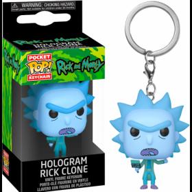 Funko keychain Rick And Morty - Hologram Rick Clone