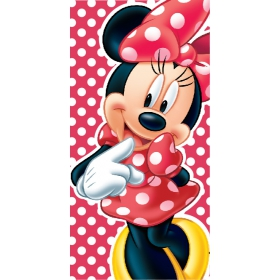 Minnie Mouse fast dry beach towel