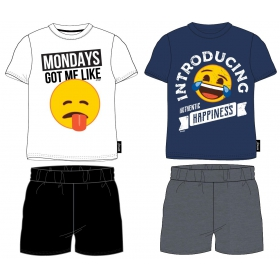 Emoji adult summer pyjamas