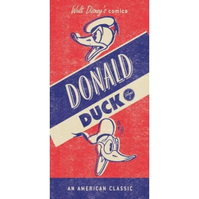 Donald Duck  beach cotton towel